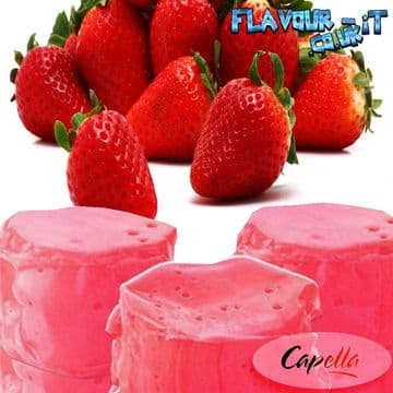 Capella Strawberry Taffy Flavour Drops