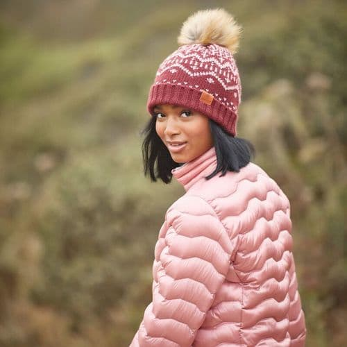 ARIAT Aztec Beanie Fig