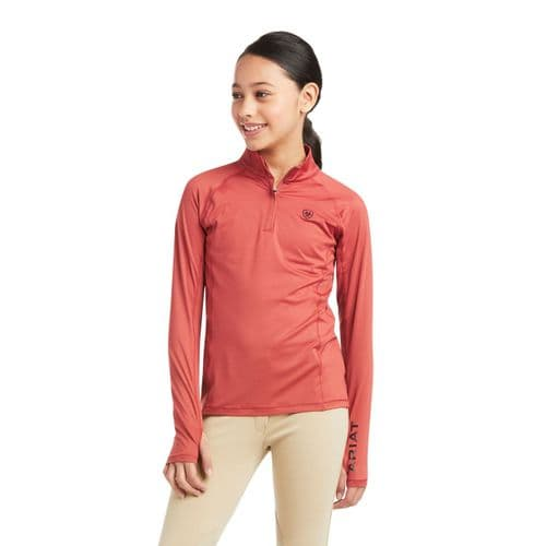 ARIAT Youth Lowell 2.0 1/4 Zip Baselayer