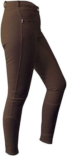 JOHN WHITAKER Horbury Classic Ladies Breeches Brown