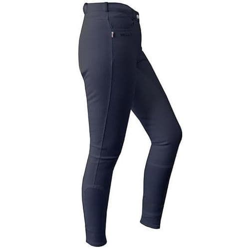 JOHN WHITAKER Horbury Classic Ladies Breeches Navy