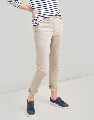 JOULES Hesford Ivory Chino Trouser
