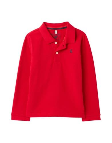 JOULES Woodwell Long Sleeve Polo Shirt