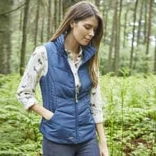 TOGGI Ashlyn Heritage Blue Country Blue Gillet