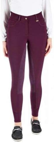 TOGGI Clydesdale  Ladies High Full Seat Waisted Breeches Berry