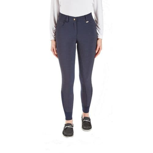 TOGGI Clydesdale Ladies High Full Seat Waisted Breeches Navy
