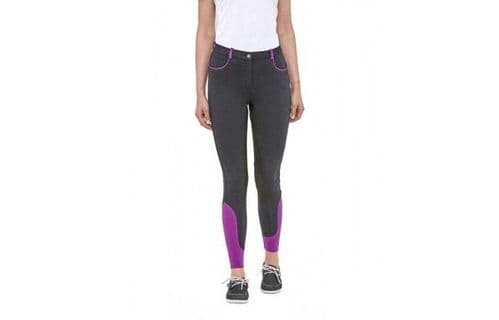 TOGGI Savoy Ladies Sock Bottom Breeches Black