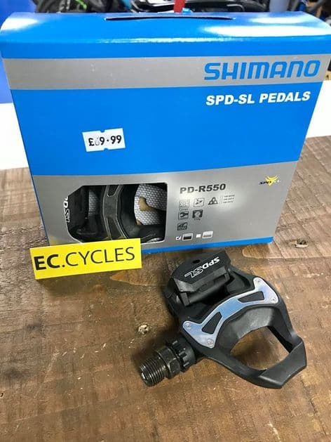 Shimano PD-R550 Speed SL Road Resin Composite Pedals