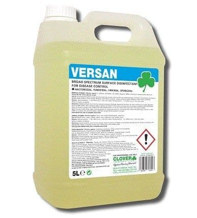 CLOVER VERSAN VIRUCIDAL BROAD SPECTRUM SURFACE DISINFECTANT (260)