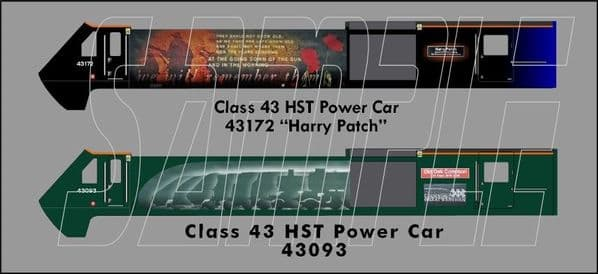 Class 43 HST Power Car - SINGLE - OO