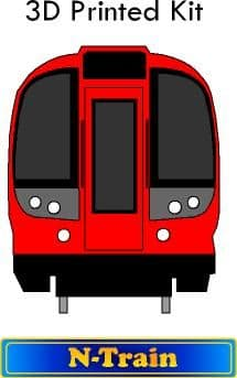 S7 Underground Tube Train.