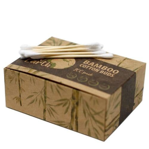 200 Eco Friendly Bamboo Cotton Buds