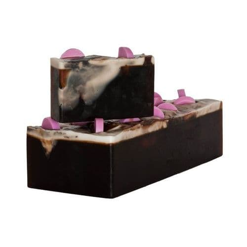 Chocolate Mallow Soap With Avocado And Jojoba Oils min 100g
