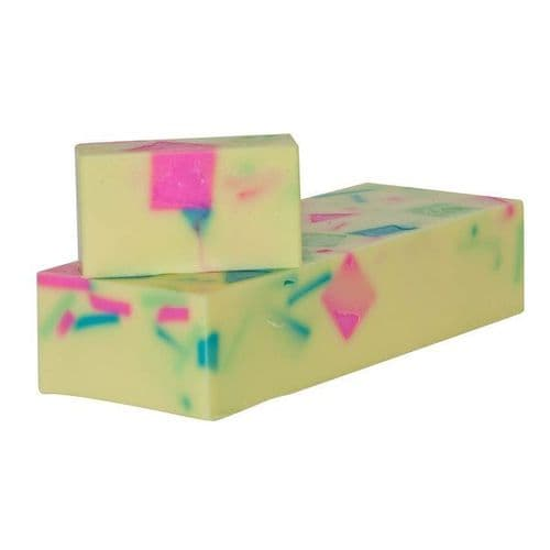 Summer Fruits Soap With Lime Essential Oil min 100g