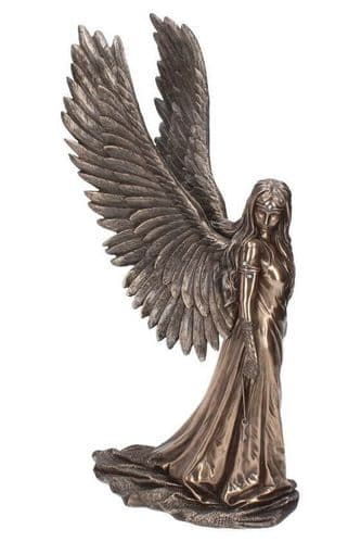 Angel Spirit Guide Cold Cast Bronze Sculpture