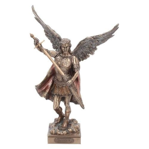 Archangel Michael Peace & Justice Bronze Sculpture