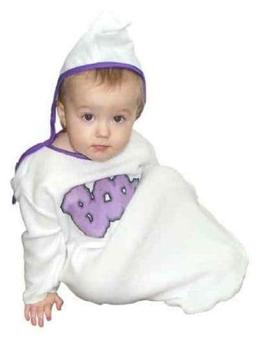 Baby Ghost Fancy Dress Costume (Age 6 - 12 mnth)
