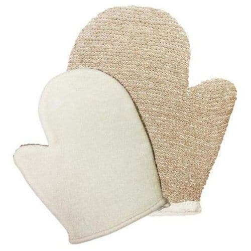 Biodegradable Jute Loofah Glove