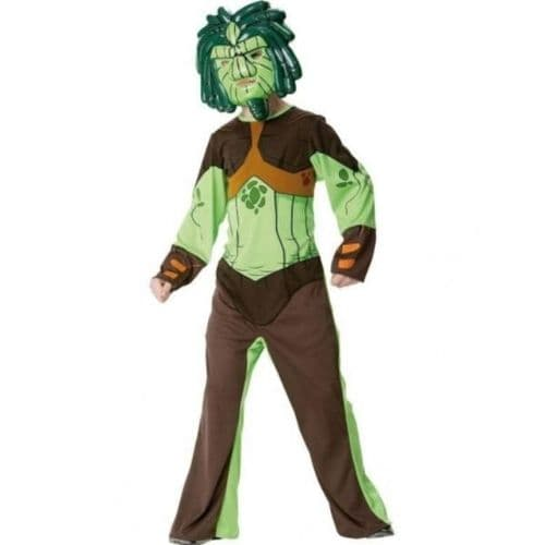 Boys Lucas Gormiti Lord Of The Forest Costume (Age 3 - 4)