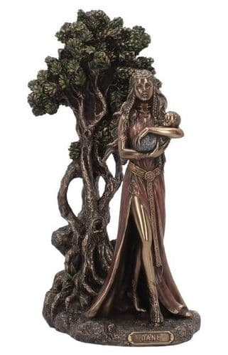 Danu Mother Of The Gods Cold Cast Bronze Sculpture