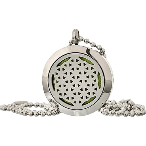 Flower of Life Aromatherapy Jewellery Necklace - 25mm