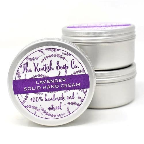 Lavender Solid Hand Cream Bar
