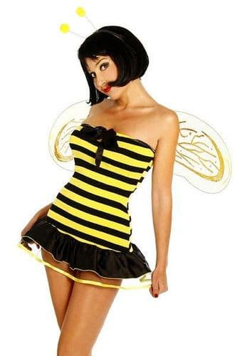 Miss Bumble Bee Fancy Dress Costume (UK 16 - 18)