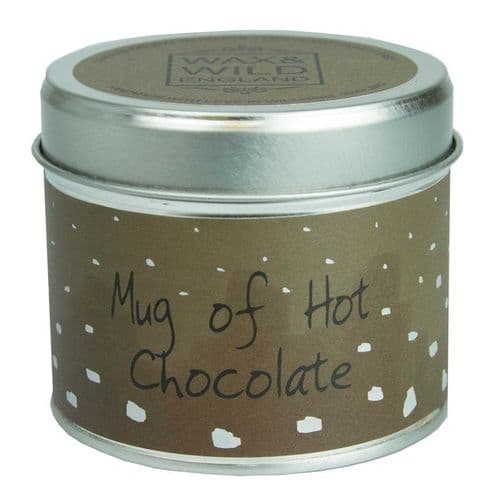 Mug of Hot Chocolate Candle In A Tin