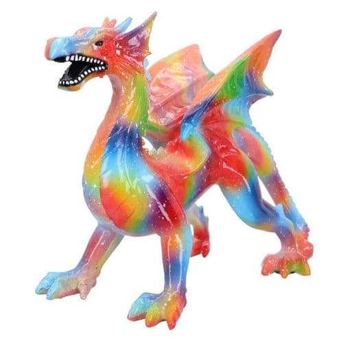 Multi Coloured Rainbow Dragon