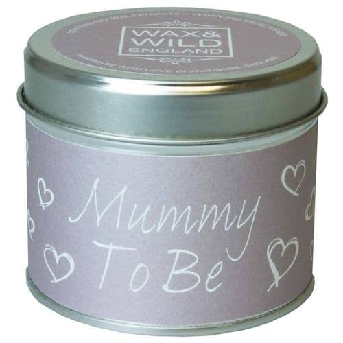 Mummy To Be - Pitter Patter Candle In A Tin