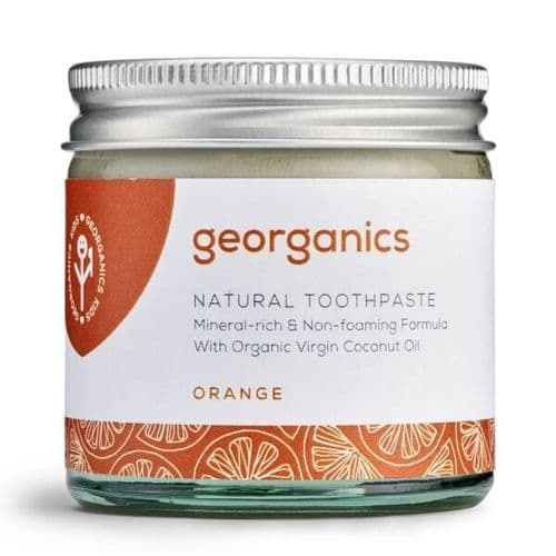 Natural Organic Orange Toothpaste - 60ml