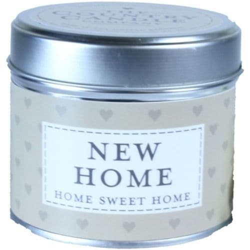 New Home - Home Sweet Home Candle In A Tin