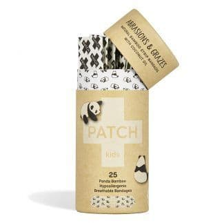 Patch Kids Natural Bamboo Strip Plasters