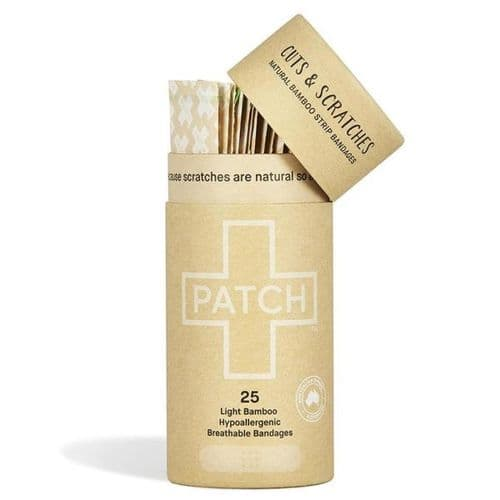 Patch Natural Bamboo Strip Plasters
