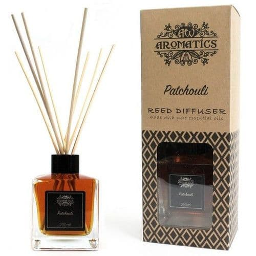 Patchouli Essential Oil Reed Diffuser - 200ml