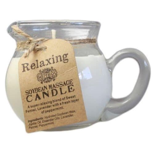 Relaxing Soybean & Essential Oil Massage Candle