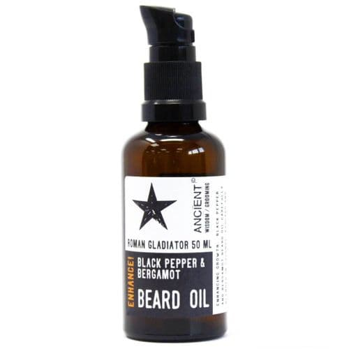 Roman Gladiator Enhancing Beard Oil – 50ml