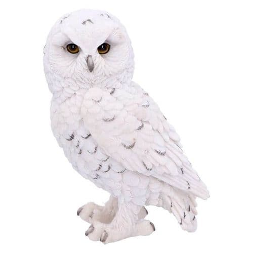 Snowy Watch White Owl Ornament - Small