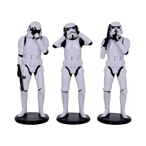 Star Wars Three Wise Stormtroopers