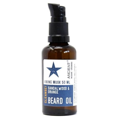 Viking Musk Cleansing Beard Oil – 50ml