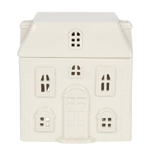 White Ceramic House Burner