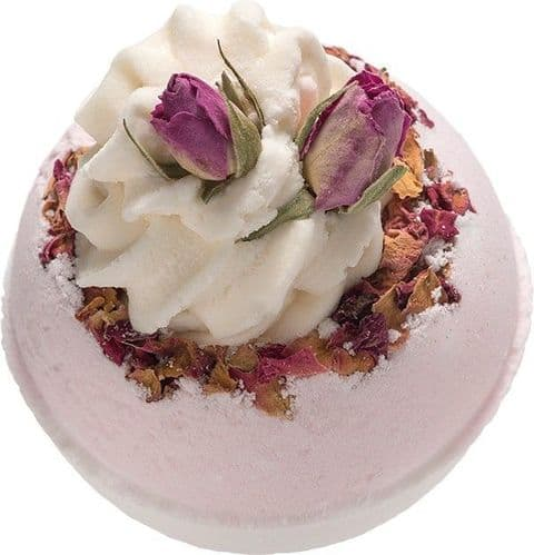Wild Rose Essential Oil Bath Bomb