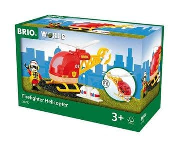 Brio - Firefighter Helicopter 33797