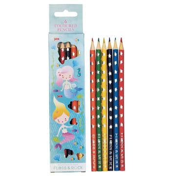 Floss And Rock Coloured Pencils 6 Pack 37P3018
