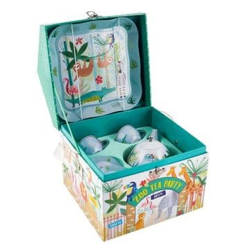 Floss and Rock - Jungle Tin Tea Set  In House Case 38P3383