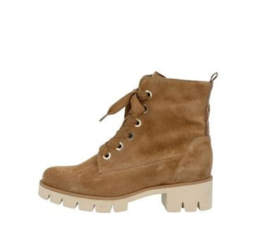 Gabor Baccara - Brown Suede - Lace Up Ankle Boot