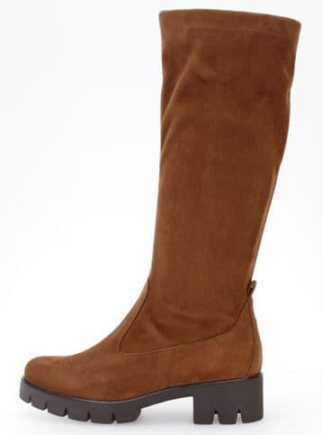 Gabor Baku - New Whisky Suede - Stretch Long Boot