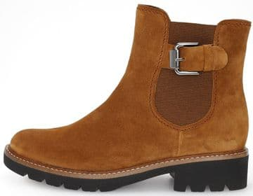 Gabor Donita - Camel Suede Ankle Boot