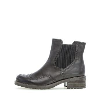Gabor Imagine - Black Leather Ankle Boot