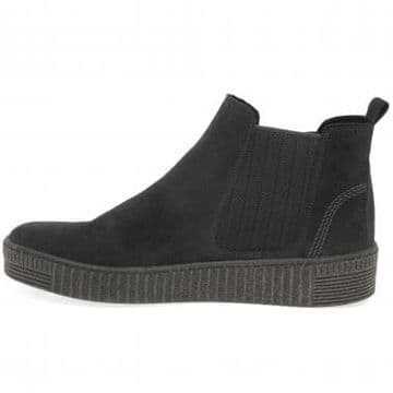 Gabor Lourdes - Pepper Suede Chelsea Ankle Boot